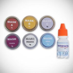 Kit Mask Plus Crystal c/ 6 unidades – Metalocerâmica